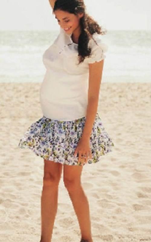 blusas estampadas para embarazadas