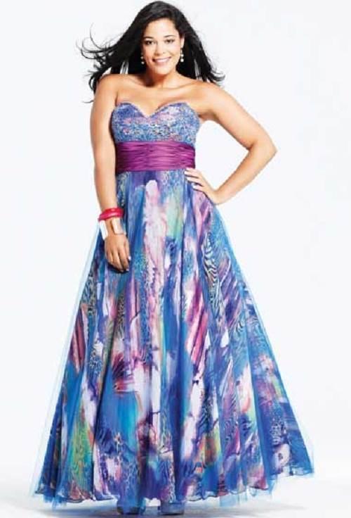 vestidos de colores de moda 2012