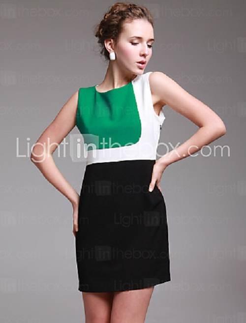 vestidos cortos de colores de noche