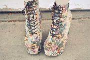 Zapatos floreados casuales y de fiesta