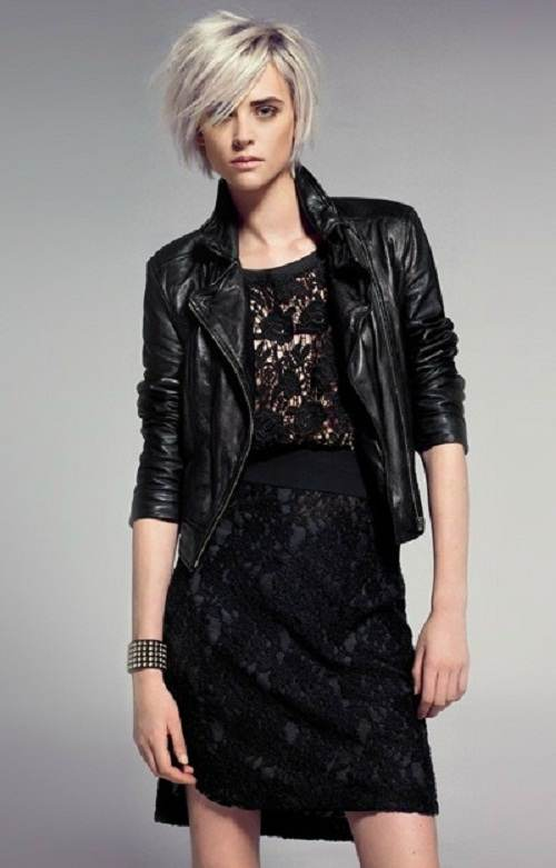 vestidos negros para el invierno