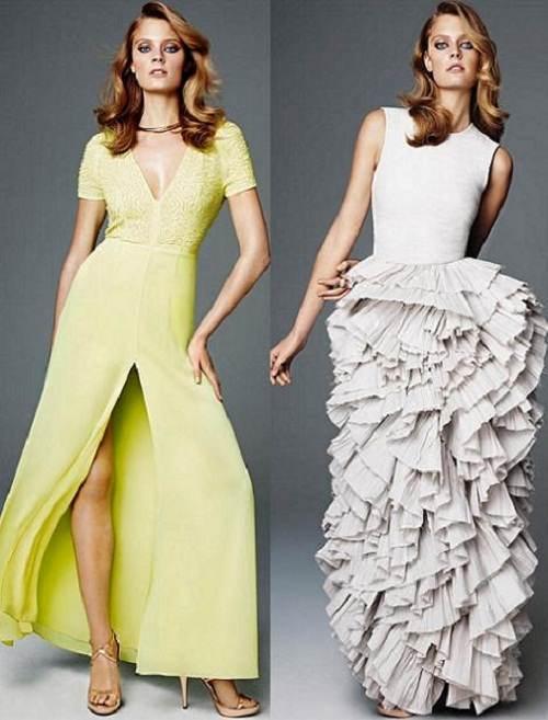 vestidos coloridos para bodas