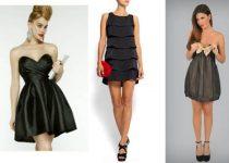vestidos negros para bodas