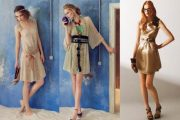 Variedad de vestidos para fiestas de noche