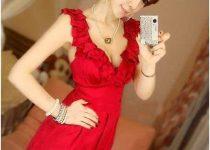 vestidos con elásticos