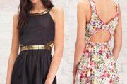 Vestidos casuales de moda 2012, preciosos modelos elegantes
