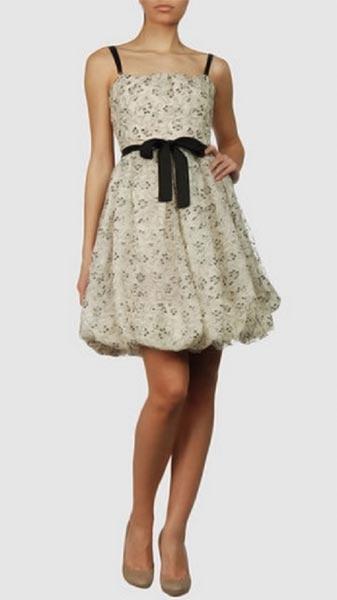 vestidos floreados de día