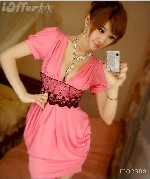vestidos largos y cortos casuales