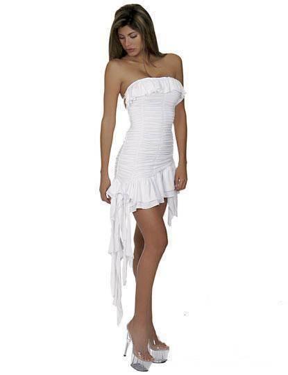 vestidos elegantes de dos piezas