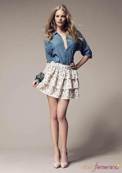 faldas y blusas modernas