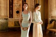 Vestidos maravillosos de fiesta de moda 2012