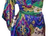 Vestidos elegantes con grandes estampados