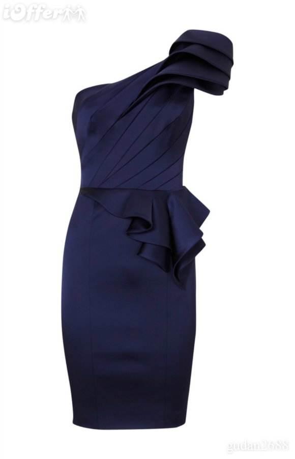 vestidos con flores 2012