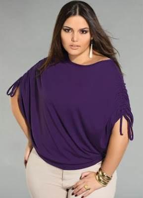blusas y vestidos gorditas