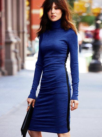 vestidos manga larga para el frío