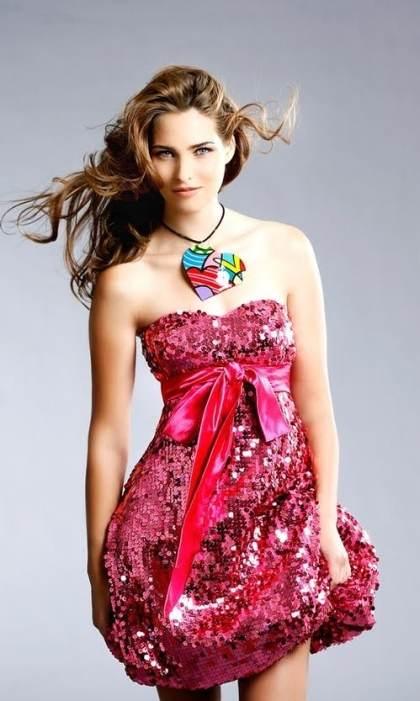 vestidos con lazos