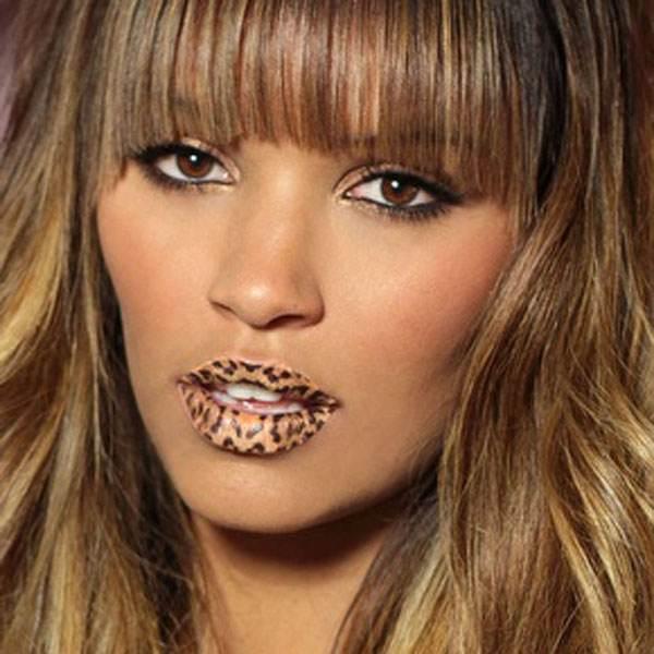 Maquillaje animal print: salvaje pero elegante