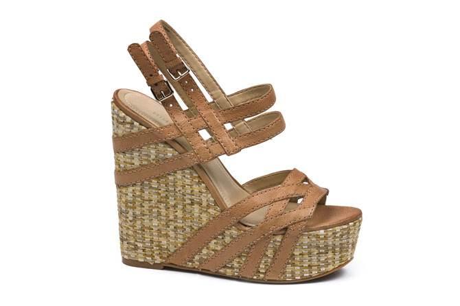 zapatos altos de verano