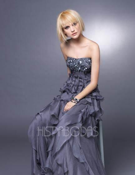 vestidos azules para bodas
