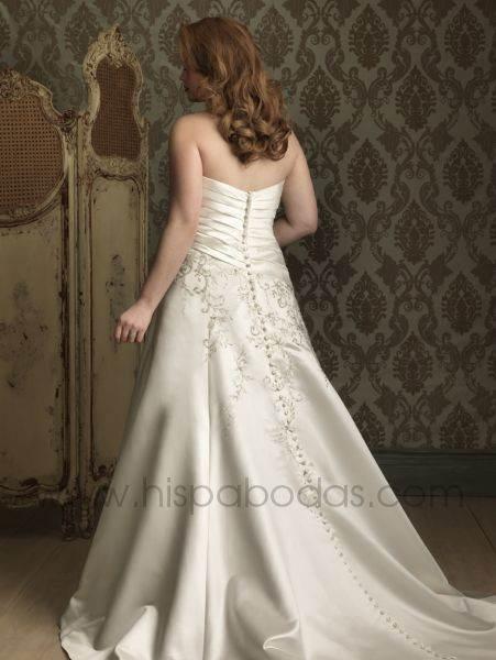 vestidos de novia para rellenitas