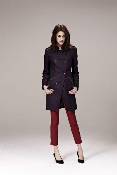 ropa elegante de invierno