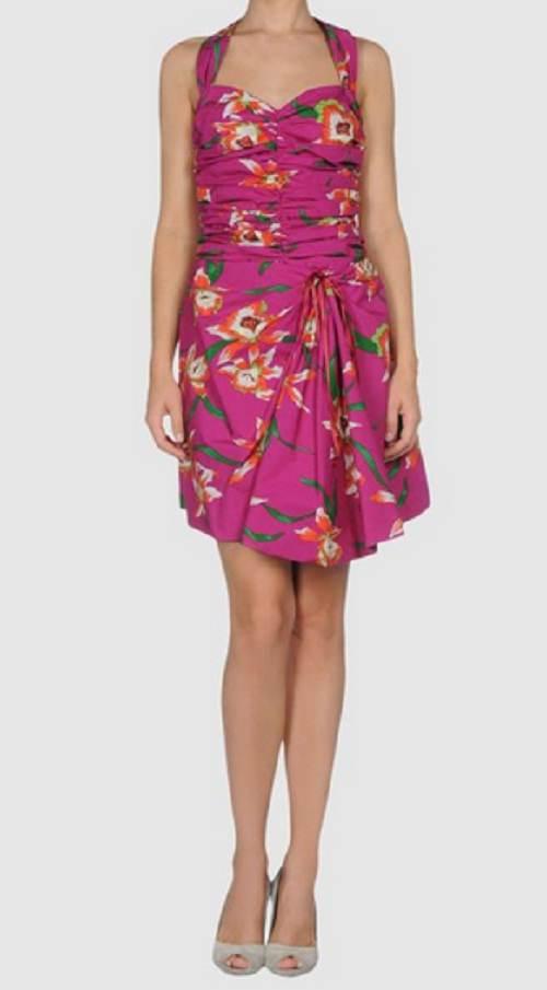 vestidos holgados de moda 2012