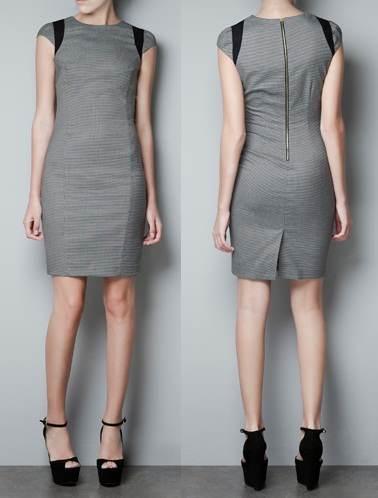Vestidos de moda invierno zara 2012