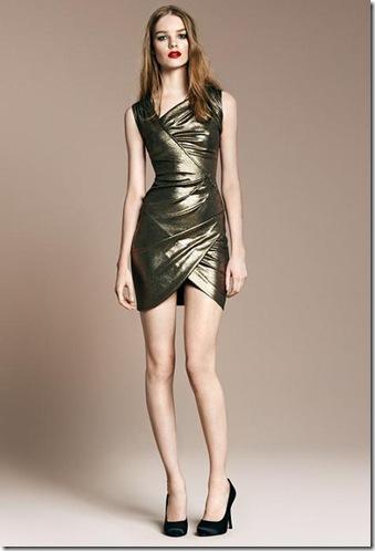 vestidos asimétricos brillantes