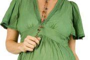 Excelentes modelos de blusas para embarazadas