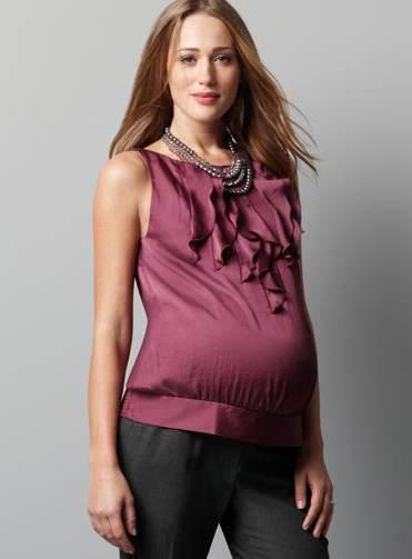 vestidos manga larga embarazadas