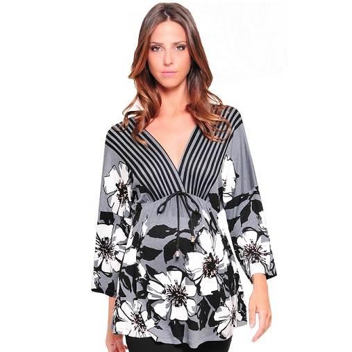 Excelentes modelos de blusas para embarazadas | Moda, vestidos de ...