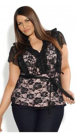 Modelos de camisetas para gorditas de moda 2012