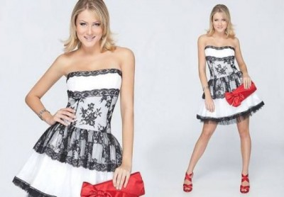 vestidos cortos para ceremonias