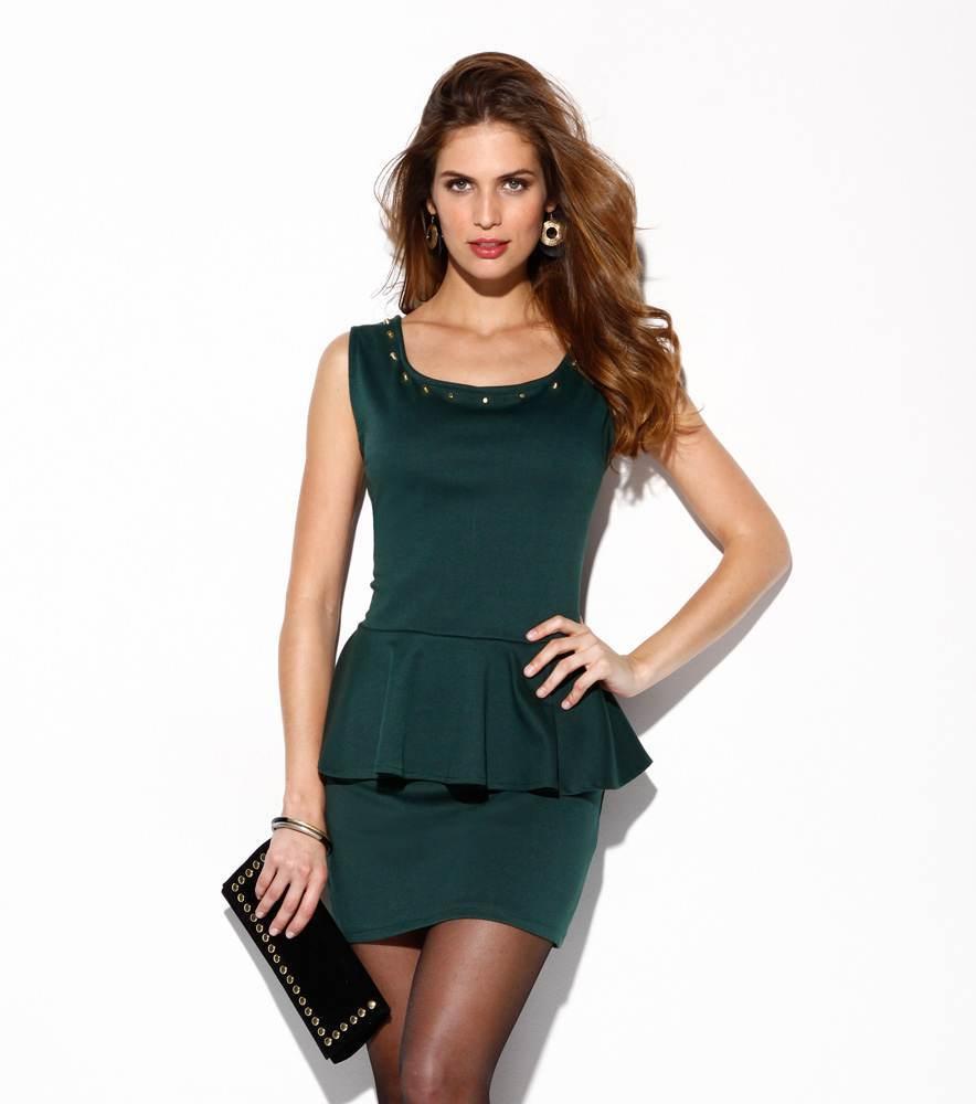 Vestidos hermosos para fiestas elegantes de noche 2012