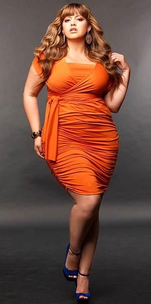 vestidos sencillos gorditas 2012