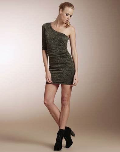 vestidos de un solo hombro 2012