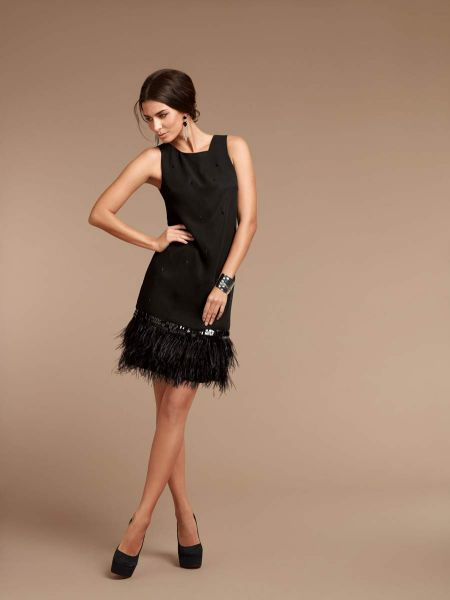 vestidos negros para nochevieja