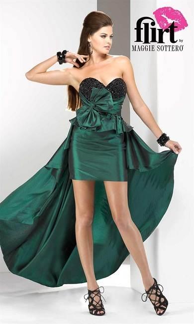 vestidos con cola para fiestas
