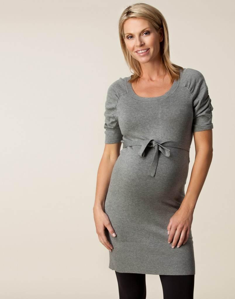 Vestidos de invierno para embarazadas 2012