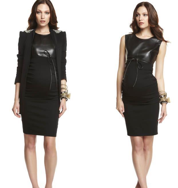 Ropa elegante de invierno para embarazadas 2012