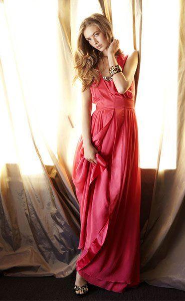 Modelos de vestidos largos ideales para fiesta de nochevieja 2012