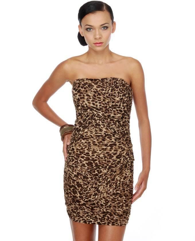 vestidos estampado de animales