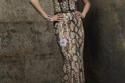 Variedad de modelos de vestidos con estampado de leopardo