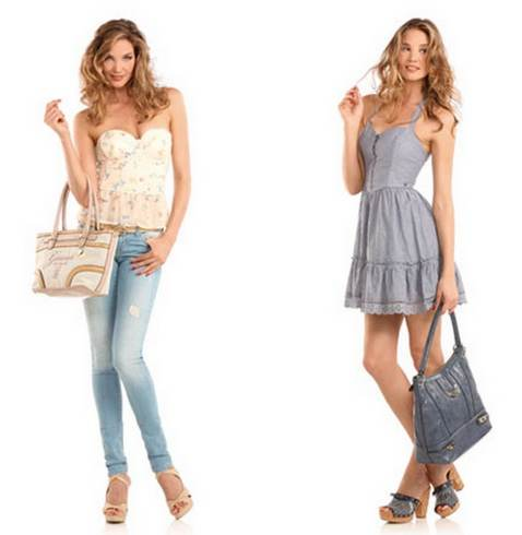 blusas y shorts de moda verano