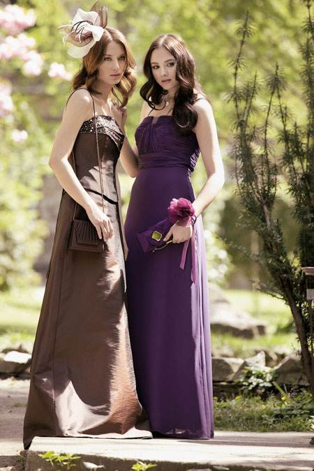 Maravillosos vestidos para madrinas de bodas