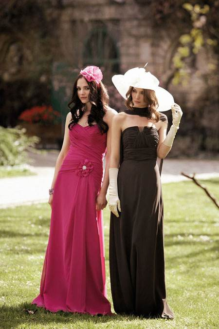 vestidos largos espectaculares de moda 2012