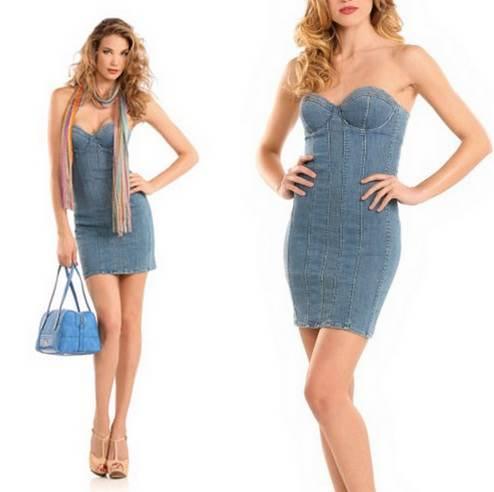 modelos de vestidos apretados