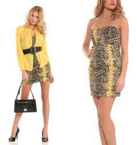 Vestidos casuales muy sexys moda 2012