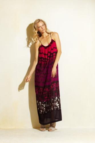 vestidos con flecos de moda