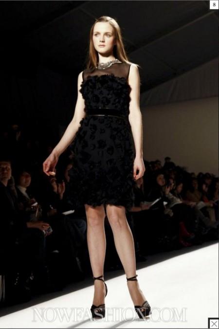 vestidos negros con capas